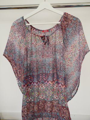 FitZ Transparent Blouse multicolored polyester