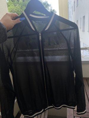 Zara Basic Kort jack zwart-wit