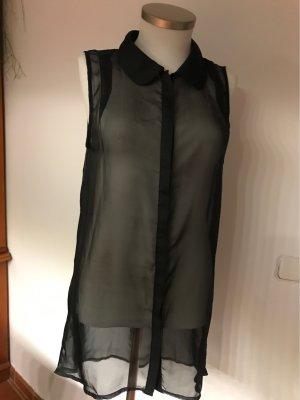 B.young Lange blouse zwart Polyamide