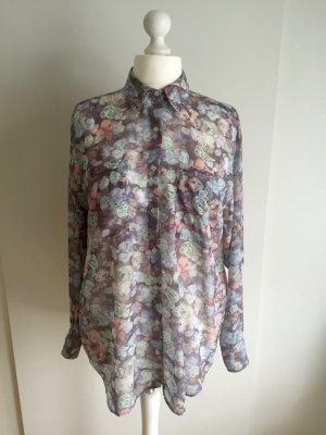 American Apparel Oversized blouse veelkleurig Polyester