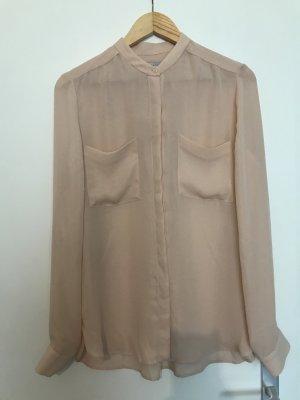 Transparente Oversized Bluse von Calvin Klein in rosé, 38