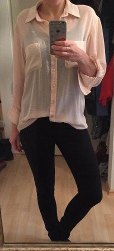 Transparente , Rosefarbene Bluse