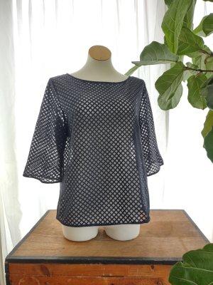 COS Transparent Blouse black