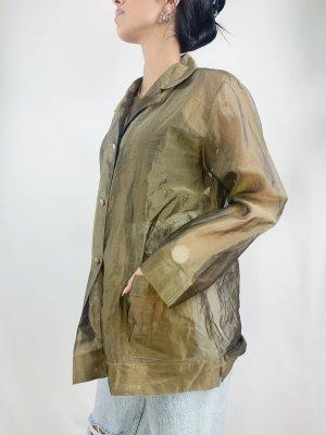 Transparente Vintage Bluse