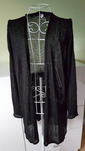 Transparenter Cardigan von H&M in Schwarz Gr. 38