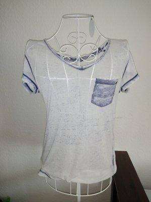 Transparentes blaues T-Shirt von Only