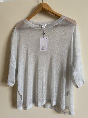 Transparentes Glitter Shirt