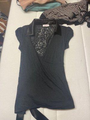 Orsay Shirt met korte mouwen zwart