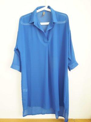 Transparentes Kleid | lange Bluse Gr.: M