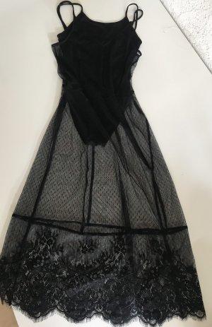 Transparentes Kleid NEU