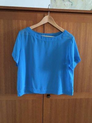 American Apparel Basic topje neon blauw Polyester