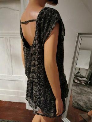 Transparentes Minikleid mit tiefem Rückenausschnitt von Koton (Gr. XS)