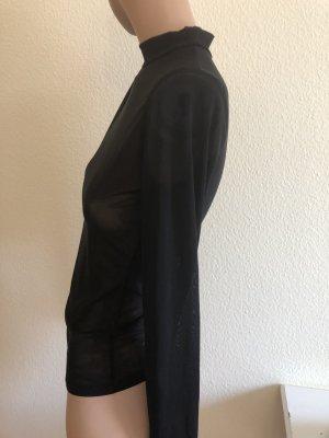 Siateczkowa koszulka czarny