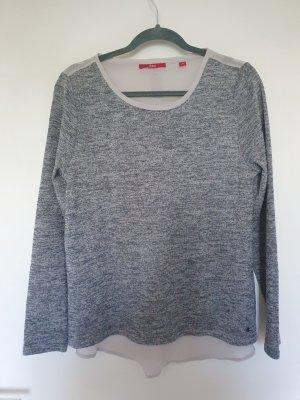 Transparenz-Pullover