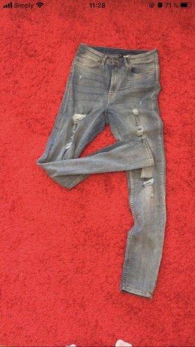 H&M Divided Jeans skinny azzurro