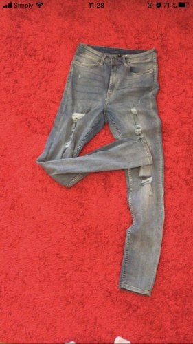 Trashed Jeans hellblau