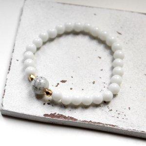 Bracelet en perles multicolore verre