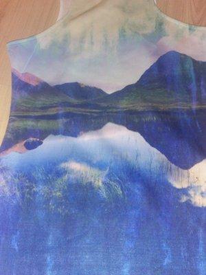 Traum Kleid Maerchenhafte Seen - Berglandschaft 36 S
