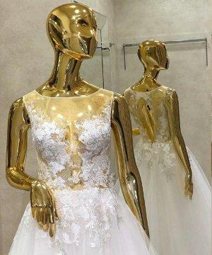 Traum Softtüll Brautkleid Hochzeitskleid mit Glitzer, offener Rücken Gr. 38 ivory NEU mit Etikett SALE