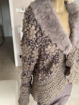 Schiffhauer Veste en laine multicolore