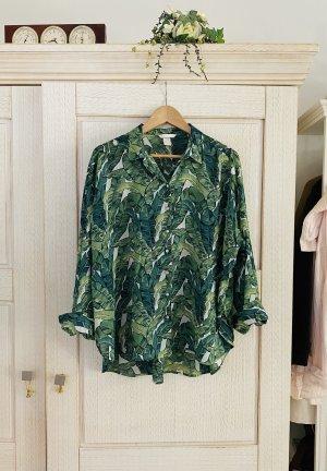 Traumhaft schöne Bluse von H&M Trend, Leinen Mix