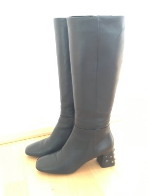 Traumhaft schöne Stiefel mit Schmuck-Absatz stylish