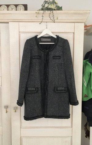 Traumhaft schöner Tweed Mantel von Zara, Neu