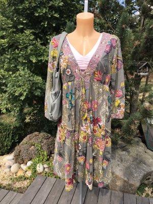 Keilani Tunic Dress multicolored cotton