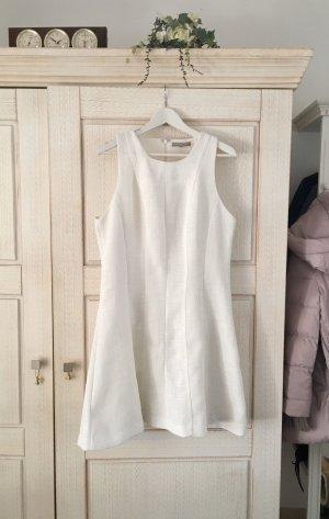 Banana Republic Robe de soirée blanc-blanc cassé tissu mixte