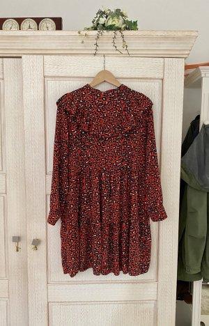 Mioni Italia Flounce Dress multicolored