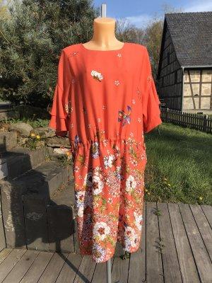 Traumhaft schönes Kurzarmkleid von s. Oliver * Blumenmuster * tolle Farben
