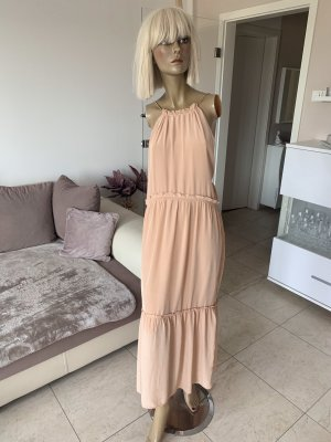 Traumhaft schönes Maxikleid..Volant..apricot Gr. M/L #Zara# blogger .. Neu mit Etikett ..