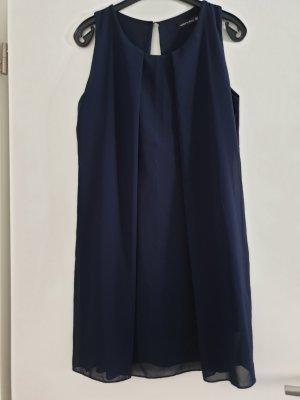 Traumhaft schönes Sommer-Kleid, Tunika, Longtop, Made in Italy, dunkelblau/ navy, Gr. XL