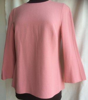 Escada Blouse topje stoffig roze Wol