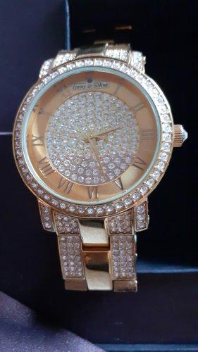 ***Traumhafte Armbanduhr Harry Ivans mit 1000...Zirkonen