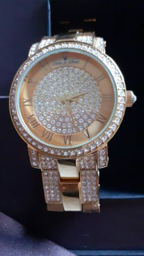 Harry Ivens Watch With Metal Strap gold-colored