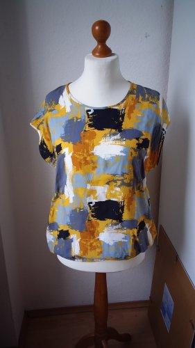 Traumhafte Bluse mit Print fließende Viskose