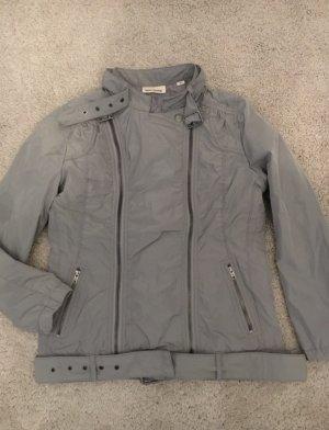Traumhafte DKNY graue Jacke Übergangsjacke 36 38 kleine 40 Donna Karan