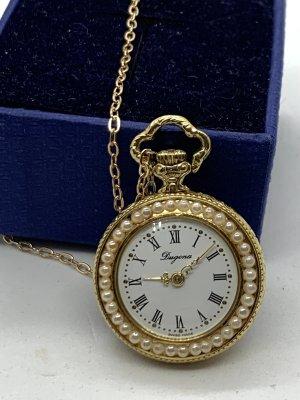 Dugena Zegarek analogowy złoto-biały