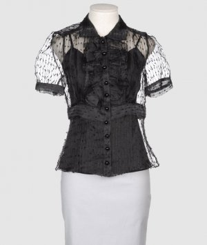 Betsey Johnson Hemdblouse zwart