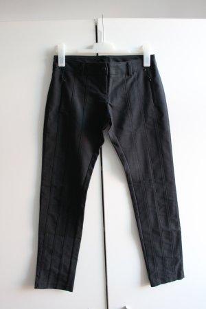 Rinascimento Pantalone elasticizzato nero-talpa
