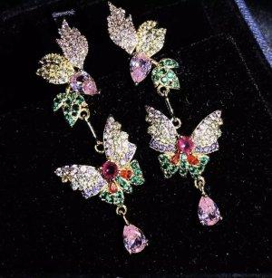 Traumhafte Filigrane Ohrringe Schmetterlinge