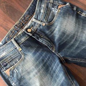 Le Temps des Cerises Jeans elasticizzati blu scuro-blu acciaio