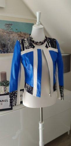 Alain Manoukian Leather Jacket multicolored polyurethane