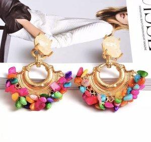 Accessoires Clou d'oreille multicolore