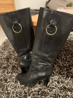 Hugo Boss High Heel Boots black