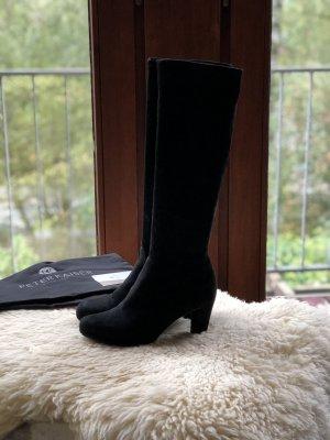 Peter Kaiser Heel Boots black leather