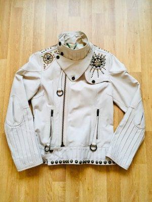 Diesel Biker Jacket natural white
