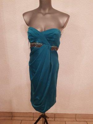 Traumhafte von Marke, Comma Kleid neu Größe 34. Mit  Perlen Strasssteine, wunderschöne Stoff noch nicht getragen .