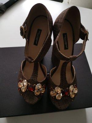 Traumhafte Wedges von Dolce & Gabbana